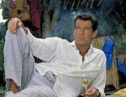 Pierce Brosnan in The Tailor of Panama.