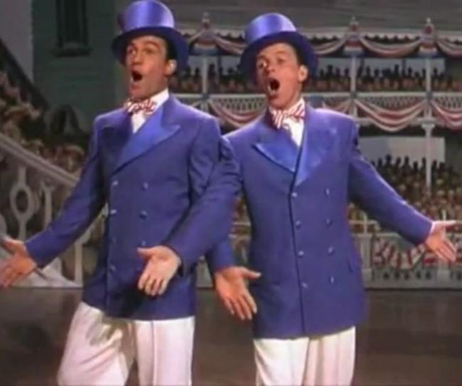Gene Kelly and Frank Sinatra in Take Me Out to the Ball Game