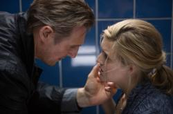 Liam Neeson and Maggie Grace in Taken 3.