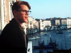Matt Damon in The Talented Mr. Ripley.
