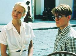 Gwyneth Paltrow and Matt Damon in The Talented Mr. Ripley.