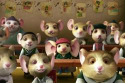 Despereaux being taught what to like and what to fear.