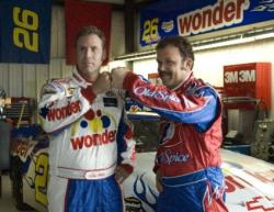Will Ferrell and John C. Reilly in Talladega Nights: The Ballad of Ricky Bobby.