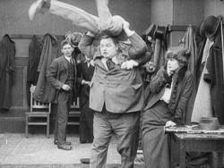 Roscoe Arbuckle in Tango Tangles.