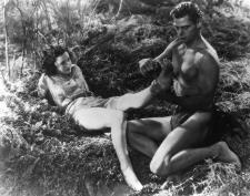 Tarzan and Jane prepare for some hot monkey loving in Tarzan the Ape Man.