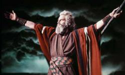 Charlton Heston in The Ten Commandments.