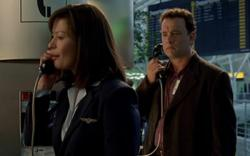 Catherine Zeta-Jones and Tom Hanks in The Terminal.