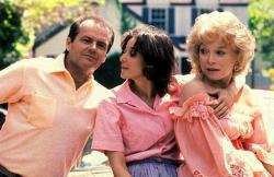 Jack Nicholson, Debra Winger and Shirley MacLaine in Terms of Endearment.
