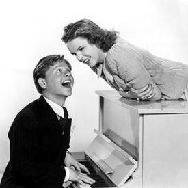 Mickey Rooney and Judy Garland knew how to put on a show for MGM in the 1930s and '40s