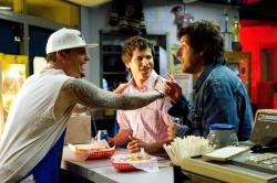 Vanilla Ice, Andy Samberg and Adam Sandler in That's My Boy