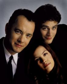 Tom Hanks, Tom Everett Scott and Liv Tyler.