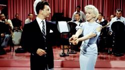 Donald O'Connor and Marilyn Monroe in There's No Business Like Show Business.