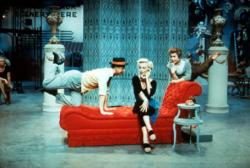 Donald O'Connor, Marilyn Monroe and Mitzi Gaynor in There's No Business Like Show Business.