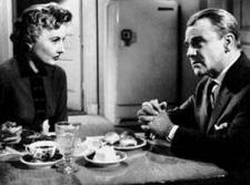 Barbara Stanwyck and James Cagney square off for the one and only time.