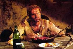 Terence Hill in They Call Me Trinity.