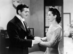 Clark Gable and Rosalind Russell in They Met in Bombay.
