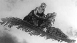 Douglas Fairbanks and Julanne Johnston in The Thief of Bagdad.