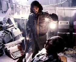 Kurt Russell in John Carpenter's The Thing.