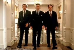 Kevin Costner, Bruce Greenwood and Steven Culp in Thirteen Days.
