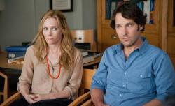 Leslie Mann and Paul Rudd in This is 40.