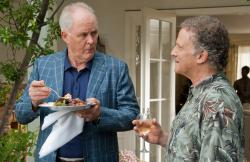 John Lithgow and Albert Brooks in This is 40.