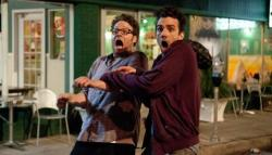 Seth Rogen and Jay Baruchel in This is the End