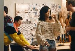 Michael Cera and Rihanna in This is the End.