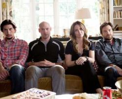 Adam Driver, Corey Stoll, Tina Fey and Jason Bateman in This Is Where I leave You