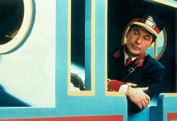 Alec Baldwin in Thomas and the Magic Railroad.