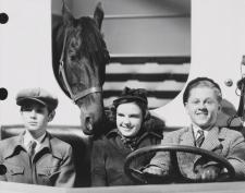 Ronald Sinclair, Judy Garland and Mickey Rooney.