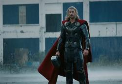 Chris Hemsworth in Thor: The Dark World.