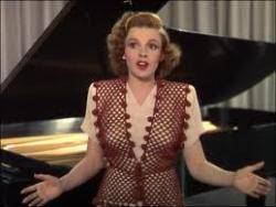 Judy Garland in Thousands Cheer.