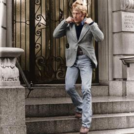 Robert Redford in Three Days of the Condor.