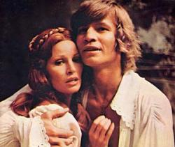 Raquel Welch and Michael York in The Three Musketeers.