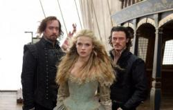 Matthew Macfadyen, Gabrielle Wilde and Luke Evans in The three Musketeers
