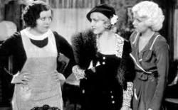 Marie Prevost, Mae Clarke and Jean Harlow in 3 Wise Girls.