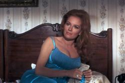 Luciana Paluzzi and her memorable mammaries.