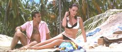 Thunderball makes great use of the scenery of both the human and tropical variety.