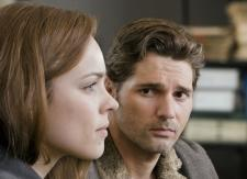 Rachel McAdams and Eric Bana.