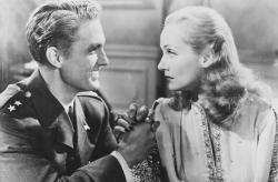 Robert Stack and Carole Lombard in To Be or Not to Be.