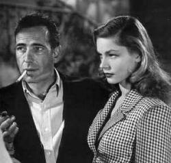 Bogie and Bacall in To Have and Have Not.