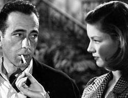 Humphrey Bogart and Lauren Bacall in To Have and Have Not