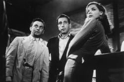 Marcel Dalio, Humphrey Bogart and Lauren Bacall in To Have and Have Not.