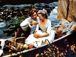 Albert Finney and Joyce Redman in Tom Jones.