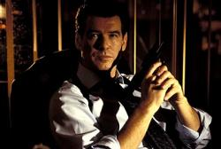 Pierce Brosnan in Tomorrow Never Dies.