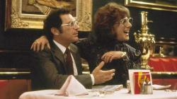 Sydney Pollack and Dustin Hoffman in Tootsie.