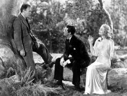 Roland Young, Cary Grant and Constance Bennett in Topper.