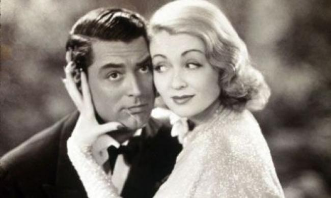 Cary Grant and Constance Bennett in Topper