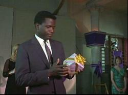 Sidney Poitier in To Sir With Love.