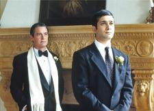 Kyle MacLachlan as Cary Grant and Jimi Mistry as Alim.